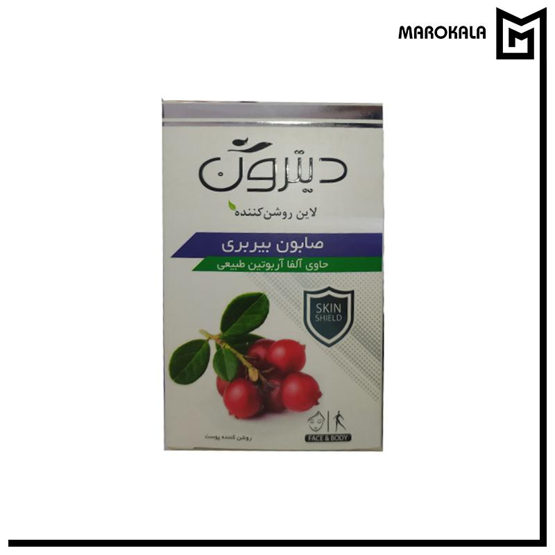 تصویر صابون تی تری دیترون وزن 110 گرم Ditron Tea tree Soap 110gr