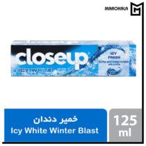 خمیر دندان سفیدکننده کلوس آپ مدل Winter Blast
